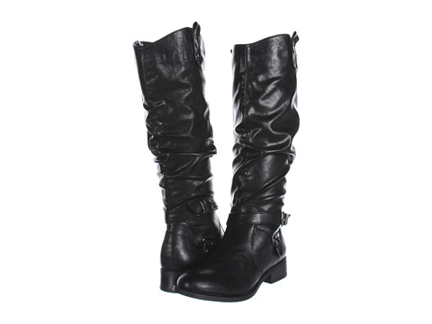 White Mountain - Latigo Boot (Black Smooth) Women