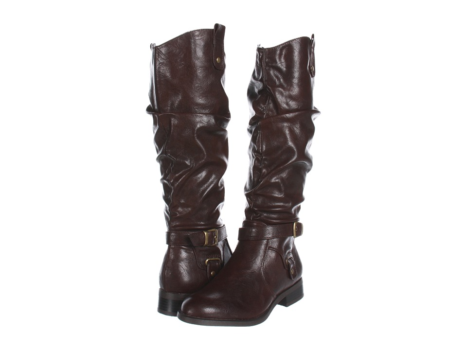 White Mountain - Latigo Boot (Brown Smooth) Women's Zip Boots