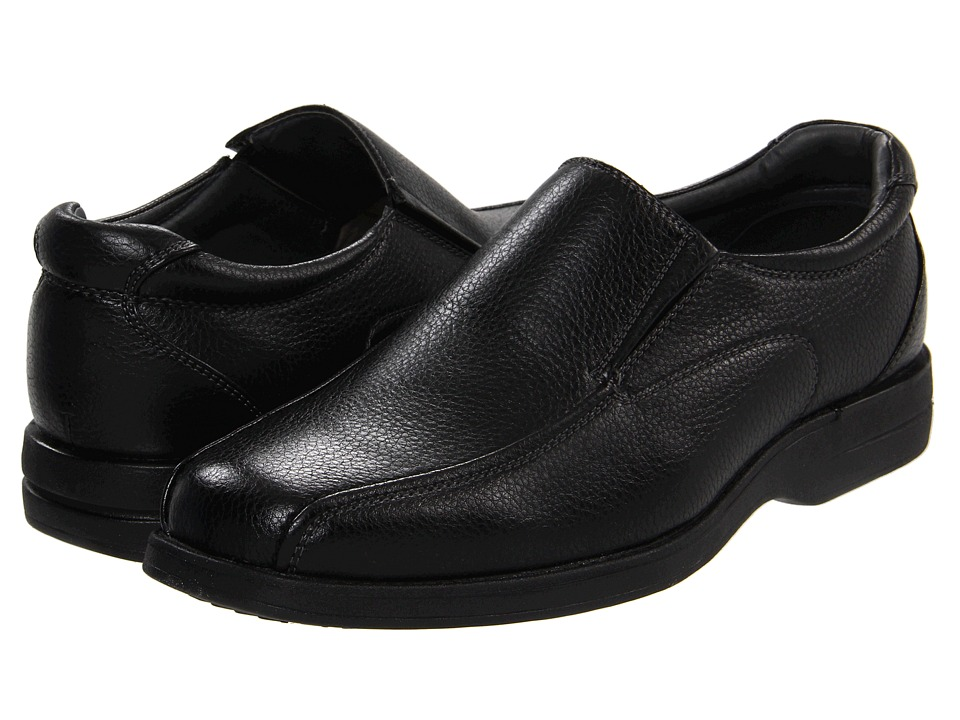 Soft Stags Dave Mens Slip on Shoes (Black)