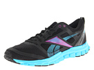 Reebok - RealFlex Speed (Black/Buzz Blue/Aubergine)