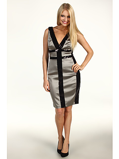 SALE! $19.99 - Save $158 on Jax Colorblock Sequin S L Dress (Black Ash) Apparel - 88.77% OFF $178.00