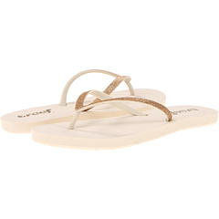 SALE! $14.99 - Save $12 on Reef Stargazer (Cream Gold) Footwear - 44.48% OFF $27.00
