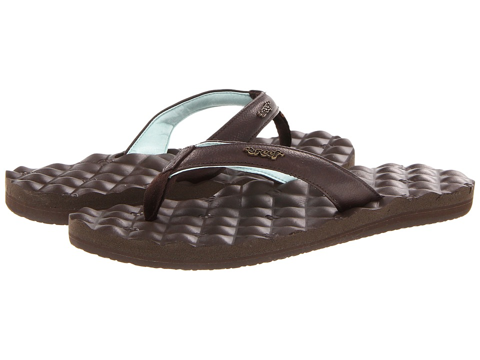 Reef Reef Dreams (Brown/Brown/Mint) Women