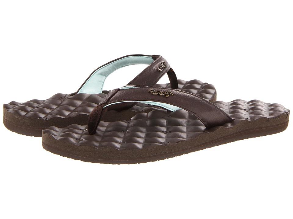 Reef - Reef Dreams (Brown/Brown/Mint) Women's Sandals
