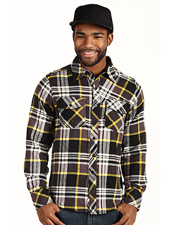 SALE! $19.78 - Save $37 on Fox Decker L S Flannel (Black) Apparel - 64.99% OFF $56.50