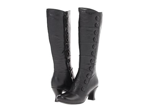 Miz Mooz - Amelia (Black) Women's Zip Boots