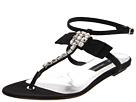 DSQUARED2 - Infradito Sandal Sbrilush (Fettucia Gros Grain Black/Taco/Heel) Sandal