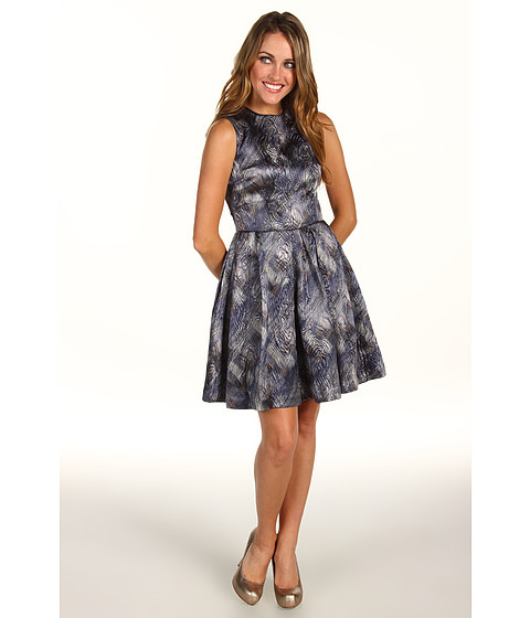 Cynthia Rowley - Brocade Dress (New Grey Brocade) Women's Dress