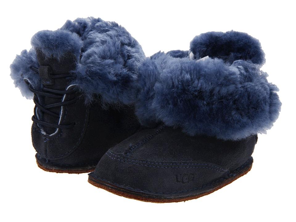 UGG Kids Boo Boys Shoes (Navy)
