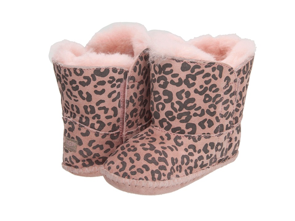 UGG Kids - Cassie Leopard (Infant/Toddler) (Baby Pink Leopard) Girls Shoes