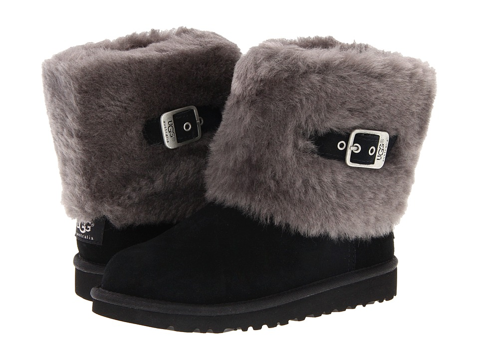 UGG Kids - Ellee (Toddler/Little Kid/Big Kid) (Black) Girls Shoes