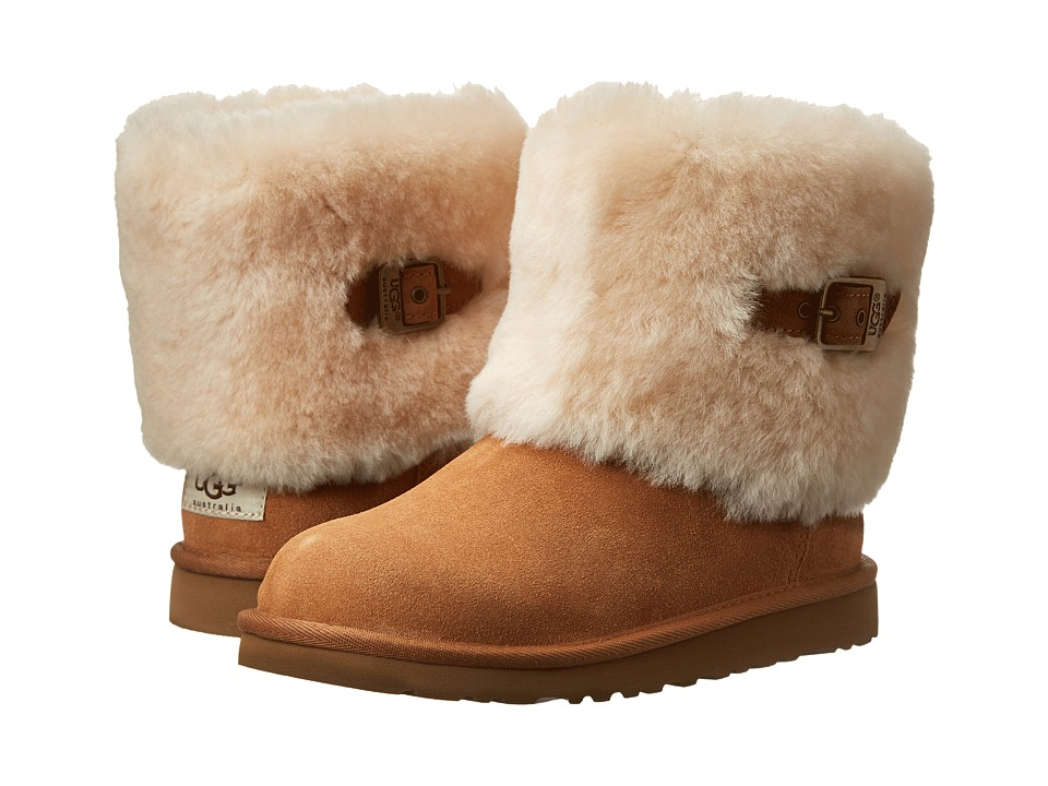 UGG Kids - Ellee (Toddler/Little Kid/Big Kid) (Chestnut) Girls Shoes