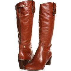 Anne Klein Brenton (Cognac Leather) Footwear