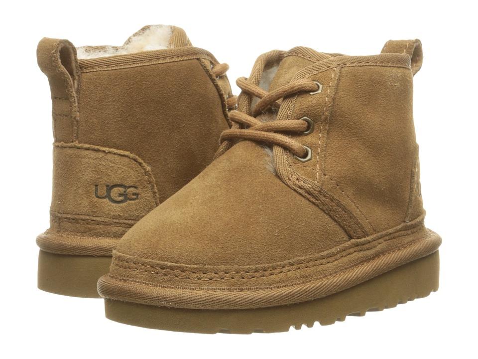 UGG Kids Neumel (Toddler/Little Kid) (Chesnut) Boys Shoes