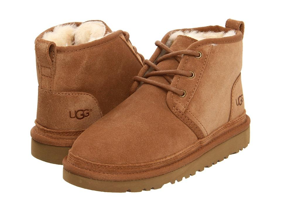 UGG Kids Neumel (Little Kid/Big Kid) (Chestnut) Boys Shoes