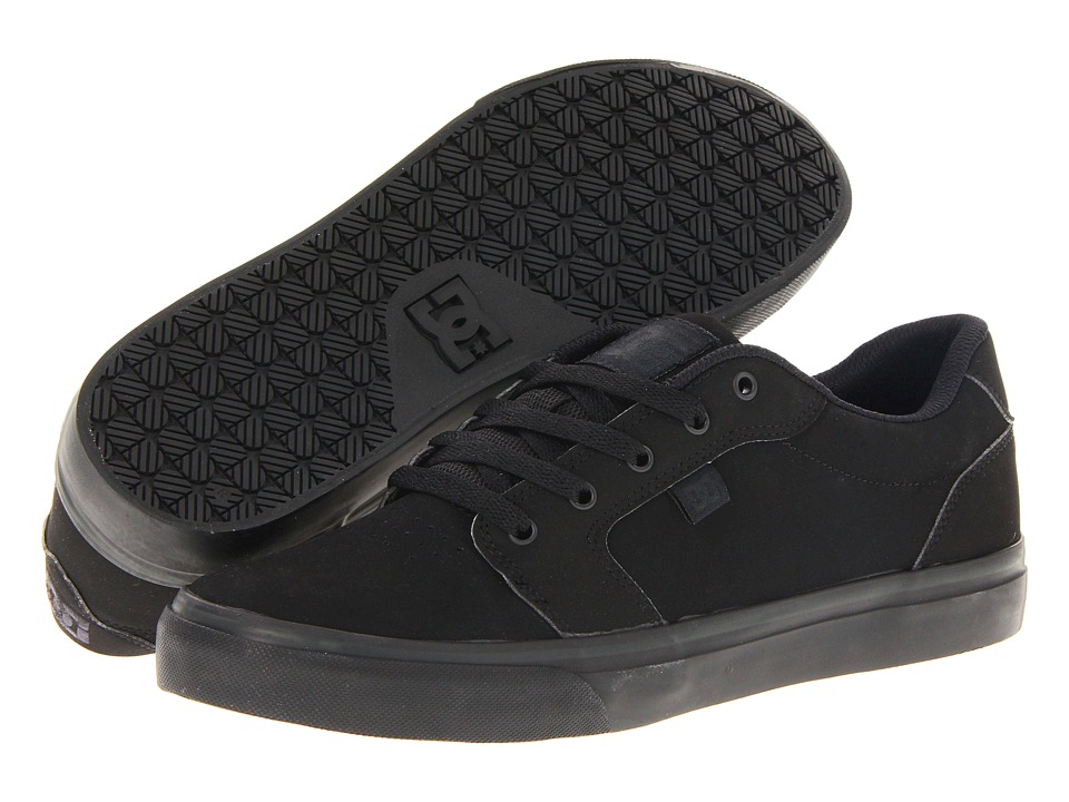 DC - Anvil (Black/Black) Men's Skate Shoes