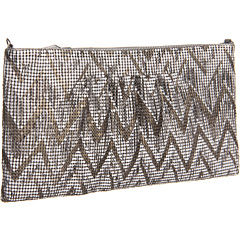 SALE! $72.76 - Save $45 on BCBGMAXAZRIA Chevron Metal Mesh Deco Clutch (Gunmetal) Bags and Luggage - 38.34% OFF $118.00