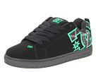 DC - Court Graffik SE (Black/Emerald/Black) - Footwear