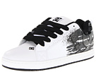 DC - Court Graffik SE (White/Dark Grey) - Footwear
