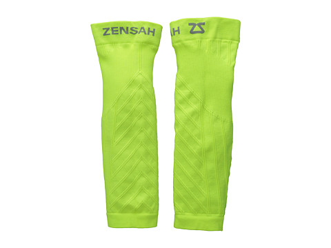 Zensah - Compression Leg Sleeves (Yellow) Athletic Sports Equipment