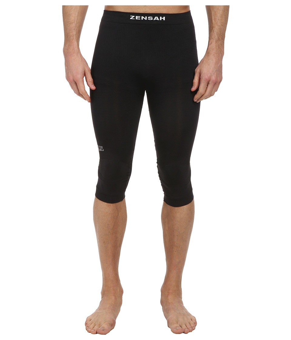 Zensah - The Recovery Capri (Black) Clothing