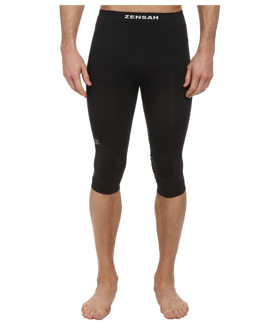 Zensah - The Recovery Capri (Black) Clothing