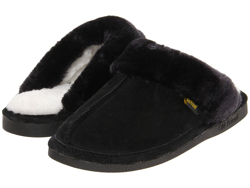 Old Friend - Montana (Black) Women's Slippers