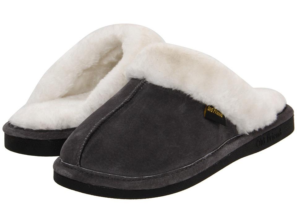 Old Friend - Montana (Grey) Women's Slippers