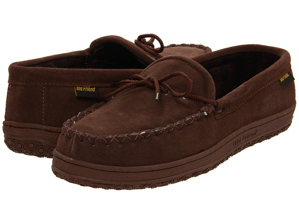 Old Friend - Wisconsin (Chocolate) Men's Slippers