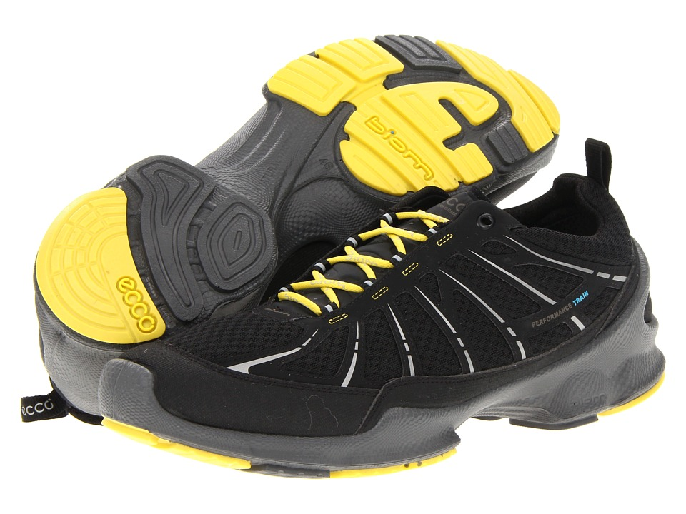 ECCO Sport - Biom Train (Black/Black) Men's Cross Training Shoes