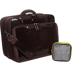 SALE! $81.99 - Save $68 on Francine Croco Laptop Overnight Roller 17.3 (Brown) Bags and Luggage - 45.34% OFF $149.99