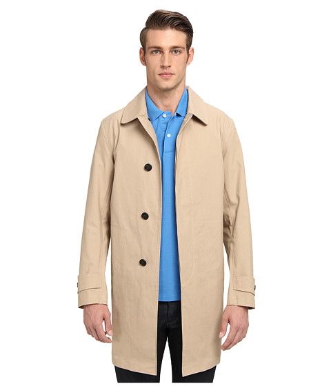 Jack Spade - Bonded Trench Coat (Khaki) Men's Coat