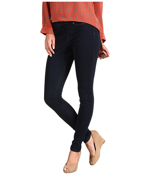 HUE - Original Jeanz Legging (Midnight Rinse) Women's Casual Pants