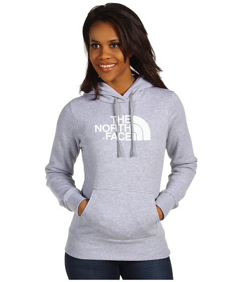 The North Face - Half Dome Hoodie (Heather Grey) Women's Sweatshirt