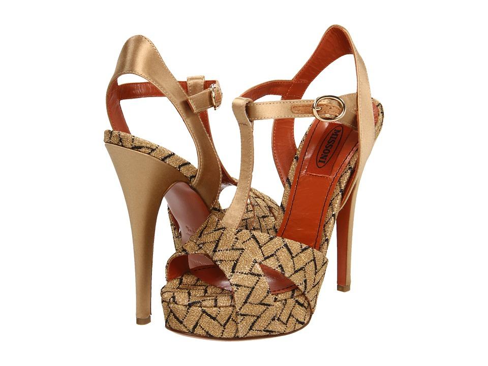 Missoni - UM054 (Nude) Women's Dress Sandals