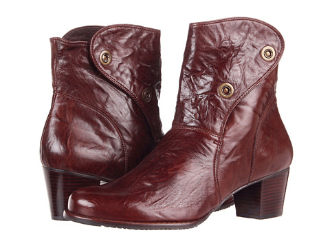 Walking Cradles - Chill (Brown Cushion Leather) Women's Zip Boots