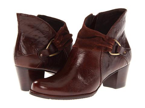 Walking Cradles - Cinnamon (Brown Cushion/Suede) Women's Zip Boots