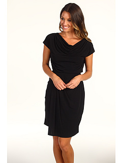 SALE! $44.8 - Save $83 on Vince Camuto Tie Back Dress VC2A1317 (Black) Apparel - 65.00% OFF $128.00