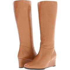 Ros Hommerson Tess Regular Shaft (Tan Portofino Calf) Footwear