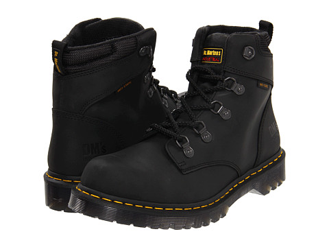 Dr. Martens Work - Holkham NS (Black Industrial Greasy) Lace-up Boots