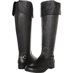 Ros Hommerson Topic Wide Shaft (Black Portofino Calf) Footwear
