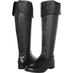Ros Hommerson Topic Regular Shaft (Black Portofino Calf) Footwear