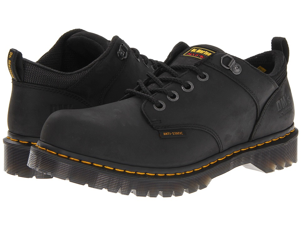 Dr. Martens Ashridge NS (Black Industrial Greasy) Lace up casual Shoes