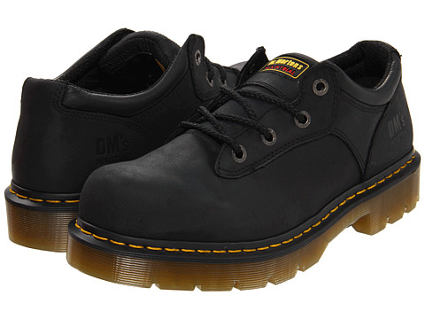 Dr. Martens - Naseby (Black Industrial Greasy) Lace up casual Shoes
