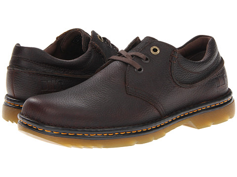 Dr. Martens - Hampshire (Dark Brown Bear Track) Men's Lace up casual Shoes