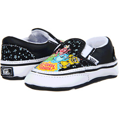 SALE! $11.99 - Save $18 on Vans Kids Yo Gabba Gabba Classic Slip On (Infant) ((Yo Gabba Gabba) Black True White) Footwear - 60.03% OFF $30.00
