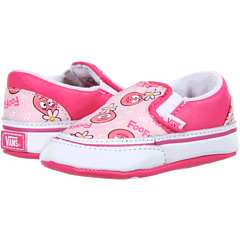 SALE! $16.99 - Save $13 on Vans Kids Yo Gabba Gabba Classic Slip On (Infant Toddler) ((Foofa) Pink True White) Footwear - 43.37% OFF $30.00