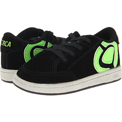 SALE! $16.99 - Save $18 on Circa Kids 50 Laced T (Toddler) (Black Lime Green) Footwear - 51.46% OFF $35.00