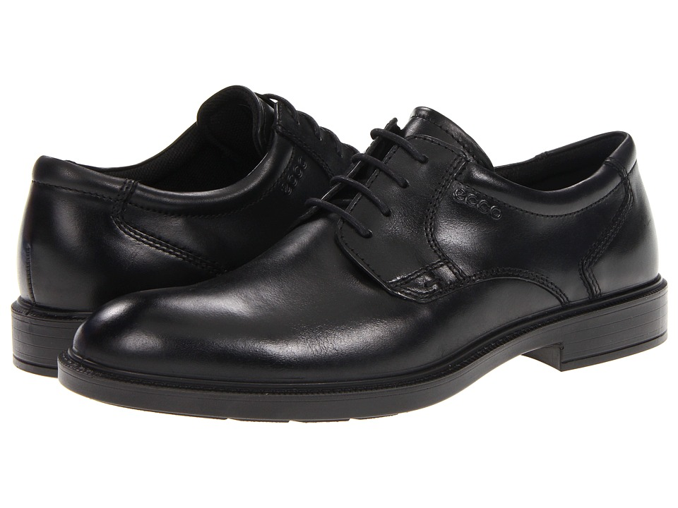 ECCO - Atlanta Plain Toe (Black Santiago) Men