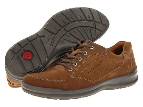 ECCO - Remote (Sepia/Walnut Oil Nubuck/Aztec) Men's Lace up casual Shoes
